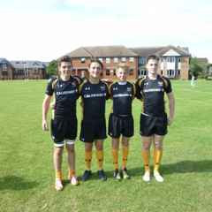 4 Oxford RFC Juniors in Wasps U16 academy side that beat Saracens 35:0