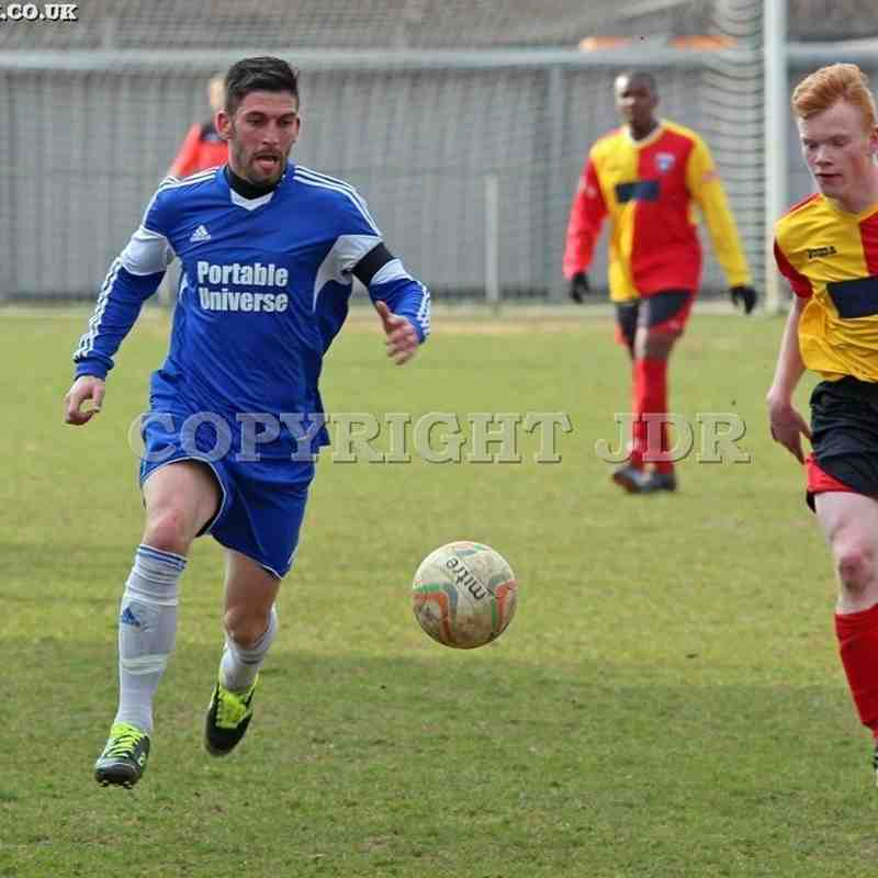 Burnham Reserves vs The Lynchpin - STCC SF 14.03.15
