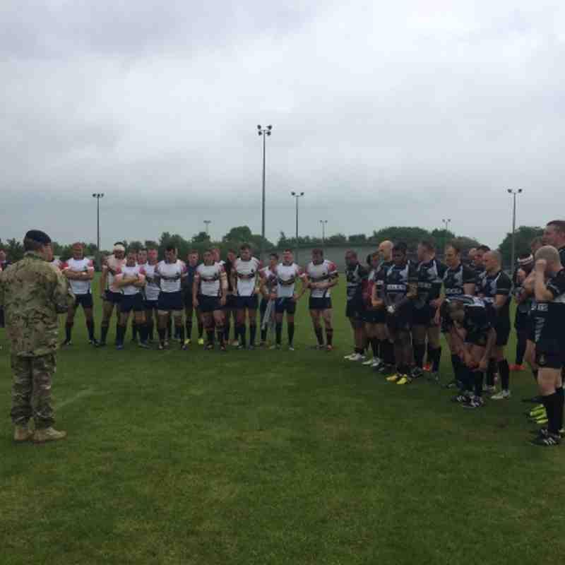 Royal Artillery vs RMRL - Sebastopol Cup 2014