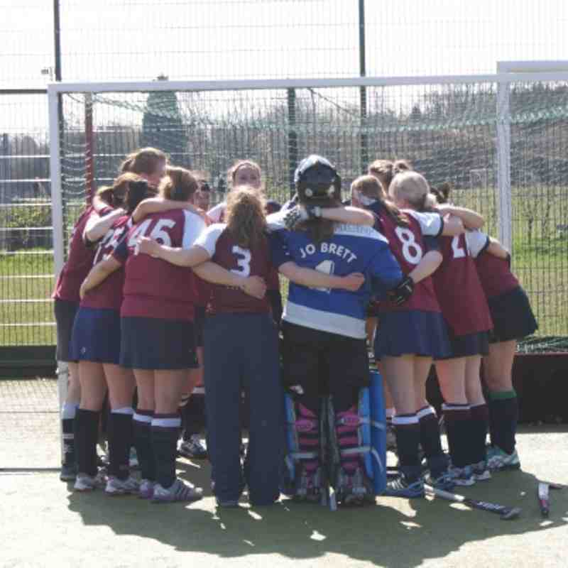 Ladies 1's - League Champions 2012/13