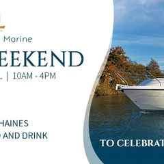 Val Wyatt Marine Open Weekend, Saturday 9th April & Sunday 10th April, 10am – 4pm