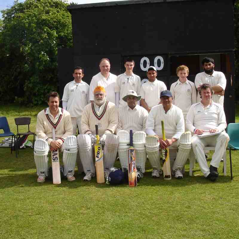 ashford cc 4th XI 2013 team