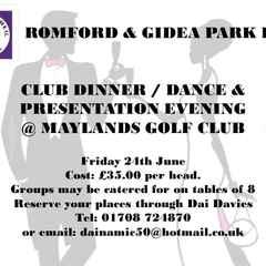 Club Dinner & Dance