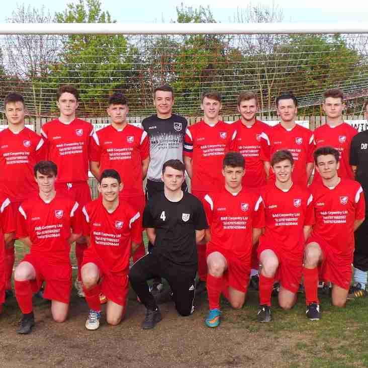 Under 18s v Soham United Pre Season Friendly Thursday 28th July