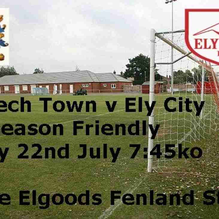 Squad announced ahead of Friday's night trip to Wisbech Town
