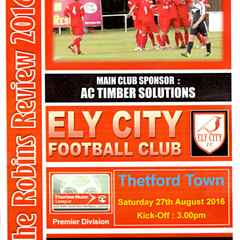 Full Time Ely City 1 Thetford Town 3