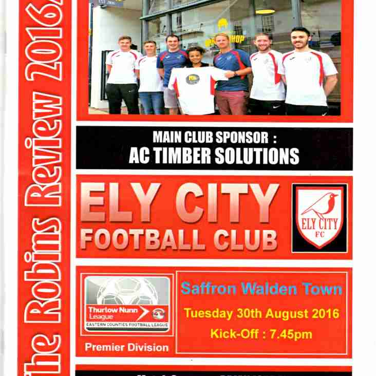 Full Time Ely City 2 Saffron Walden 3 MATCH REPORT TO FOLLOW