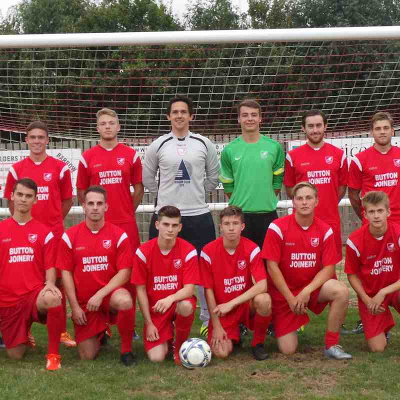 Reserves Team Photo 2016/17