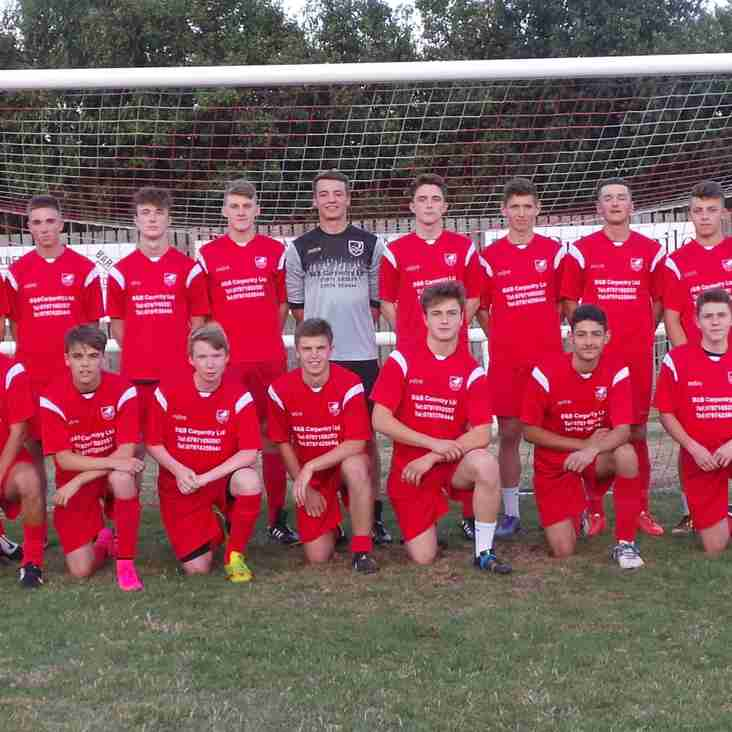 Under 18 side in cup action with two games in three days
