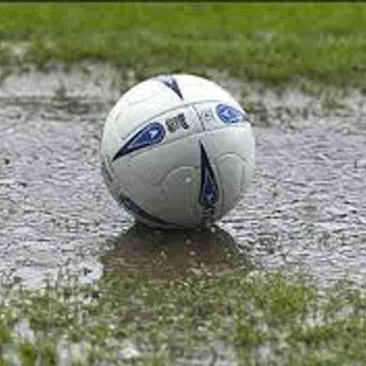 Thursday  Under 18s  game v Royston Town  is OFF