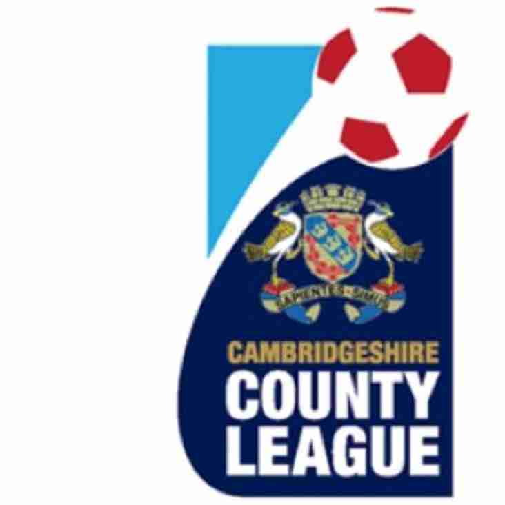 Cambs County League Provisional Constitution 2019/20