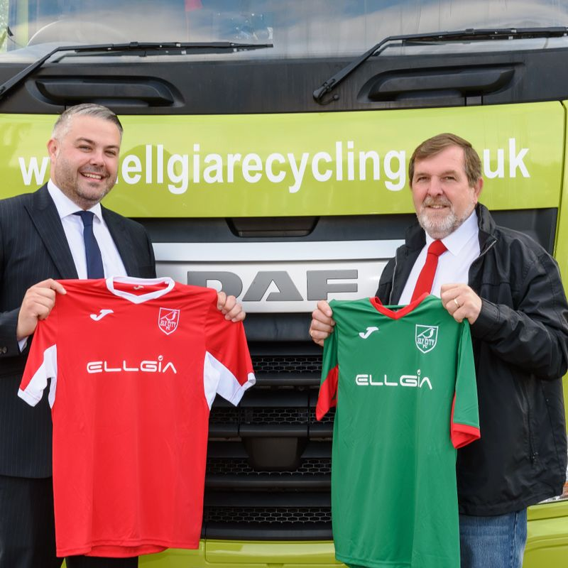 Club strike new long term partnership with local company Ellgia Recycling