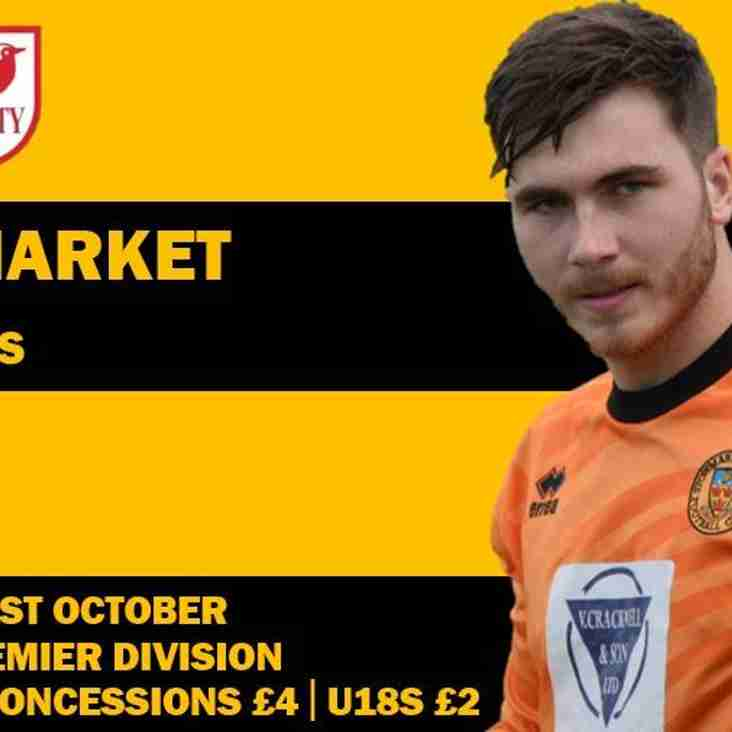Match Day : Stowmarket Town v Ely City  Saturday 21st October