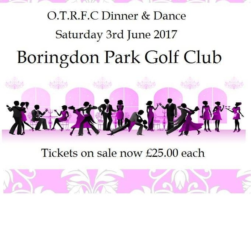 O.T.R.F.C. DINNER AND DANCE