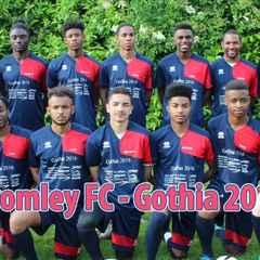 Bromley U18 Gothia Flys the flag