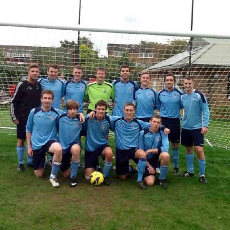 Kew 1s senior team photo