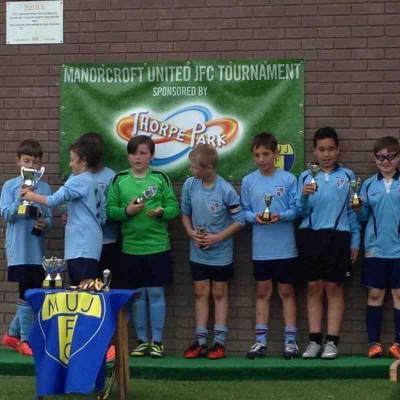 U10 Tournament Winners 23rd May 2015