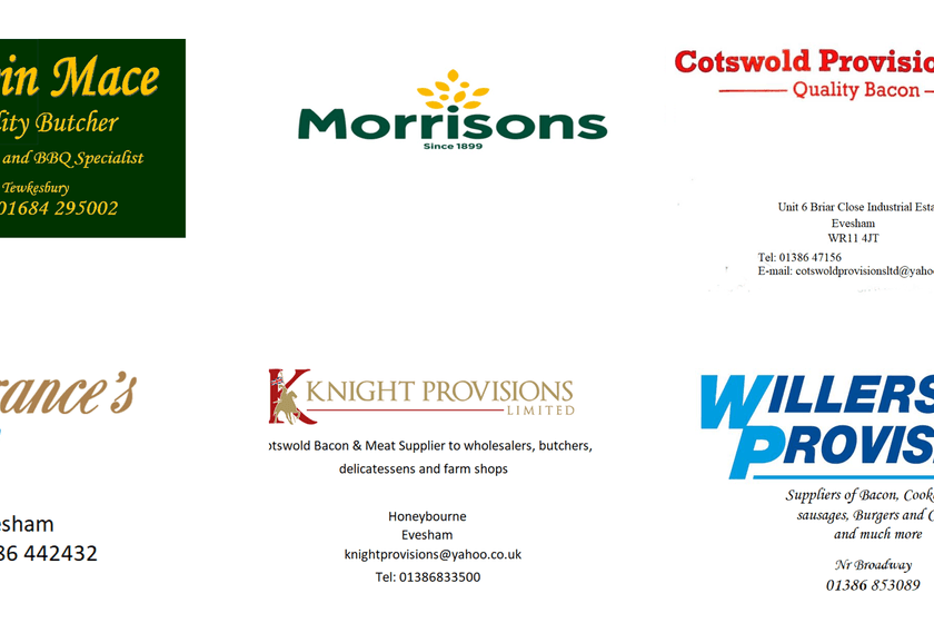 Thank you to the Mini Festival Food Sponsors