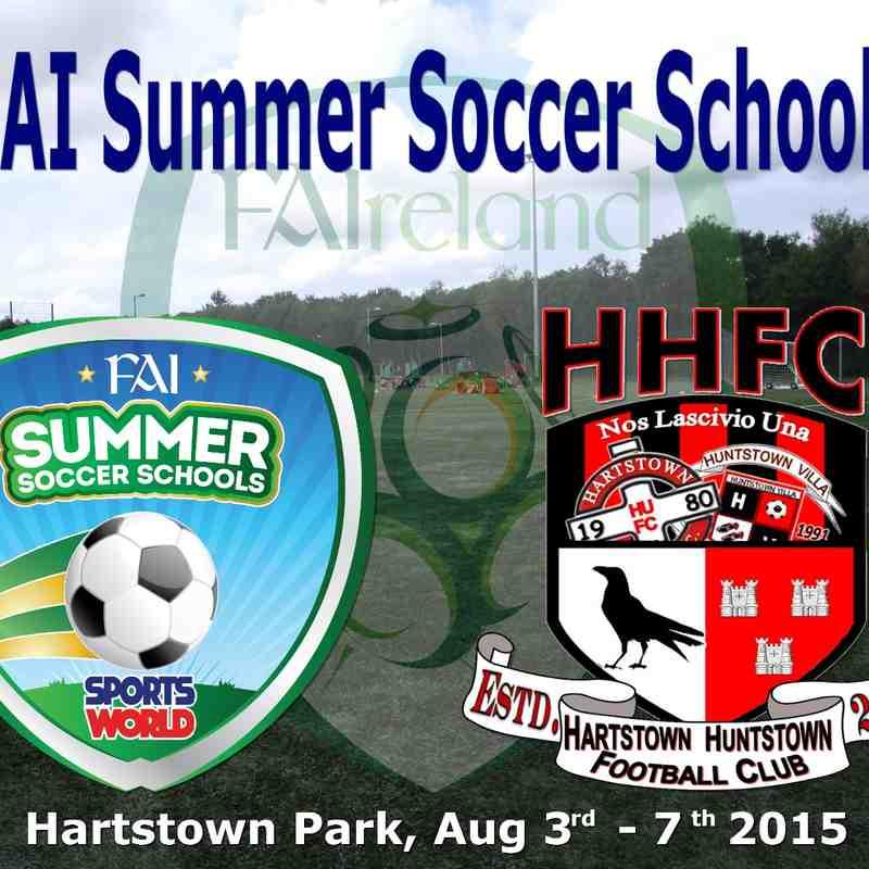 FAI Summer Soccer Schools 2015