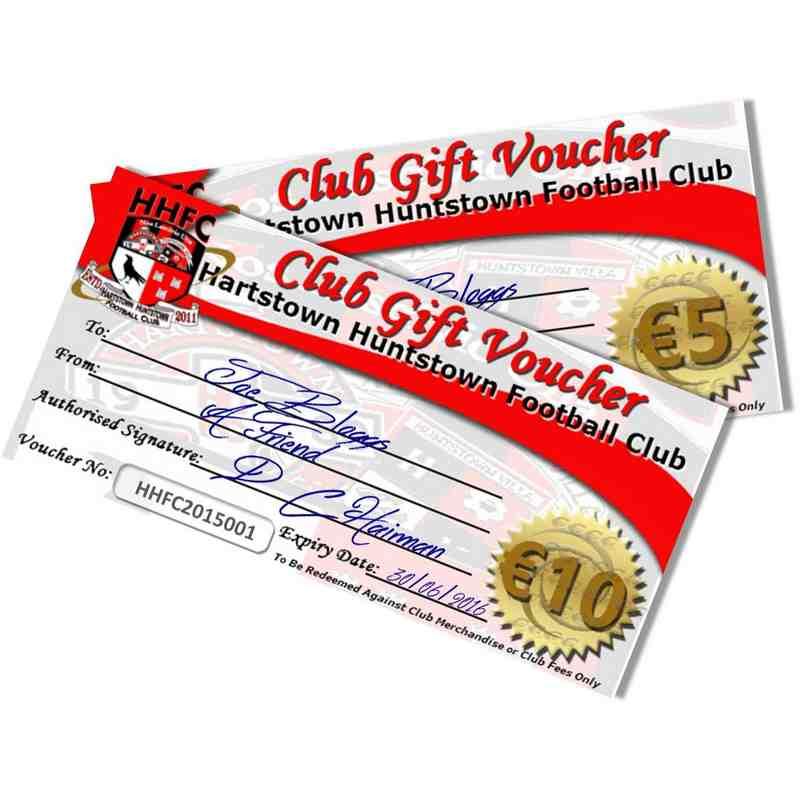 Club Gift Vouchers