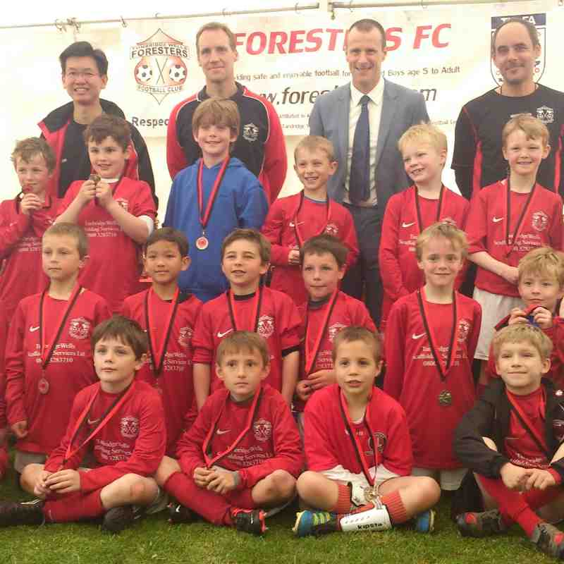 Foresters U10's Squad