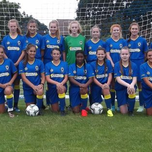 AFC  Wimbledon v Croydon Borough Girls.