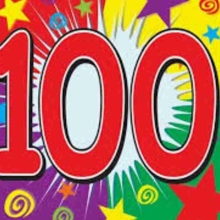 100 club winners for quarter 2