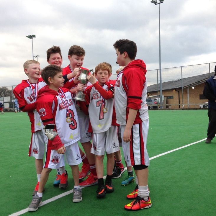 Under 12&#039;s romp to victory at the Timperley 6 Aside Tournament<