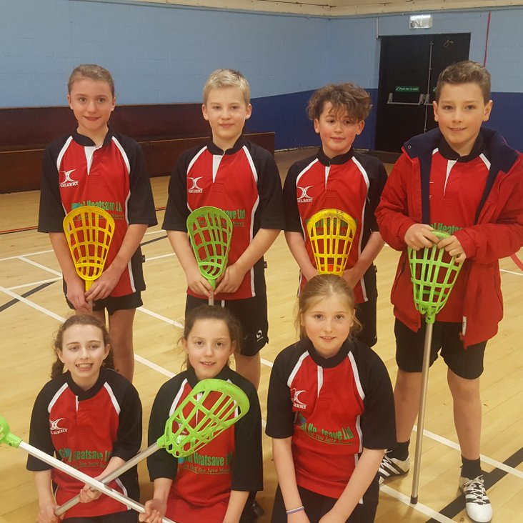 Mellor Primary School through to NW Pop Lacrosse Finals<