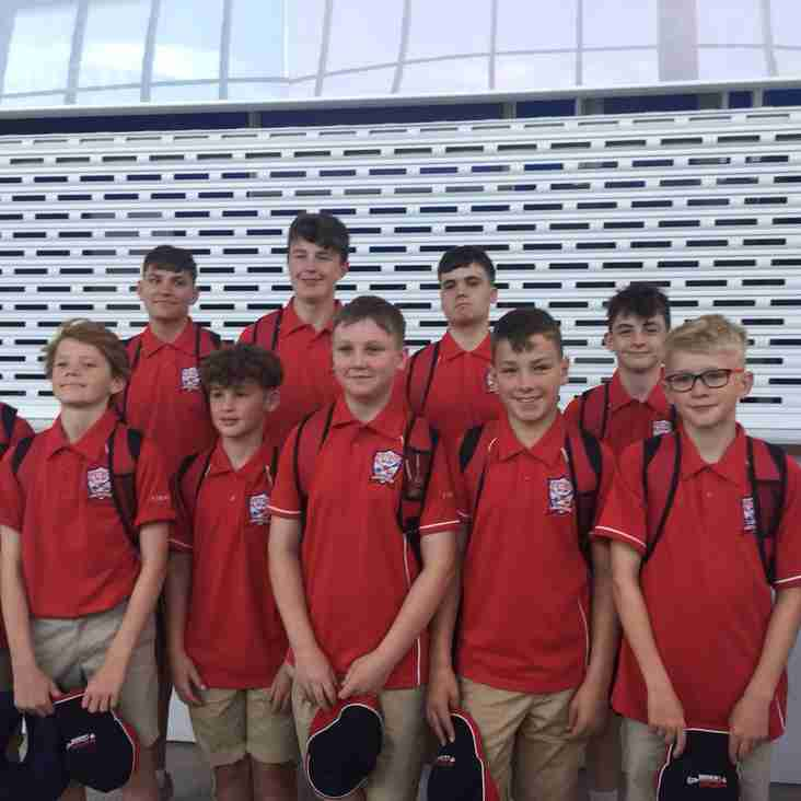 Mellor Boys head off to the USA with Stockport Metros