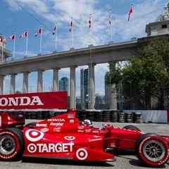 Honda Indy 3 day, 2 person reserved silver grandstand seats and paddock garage passes