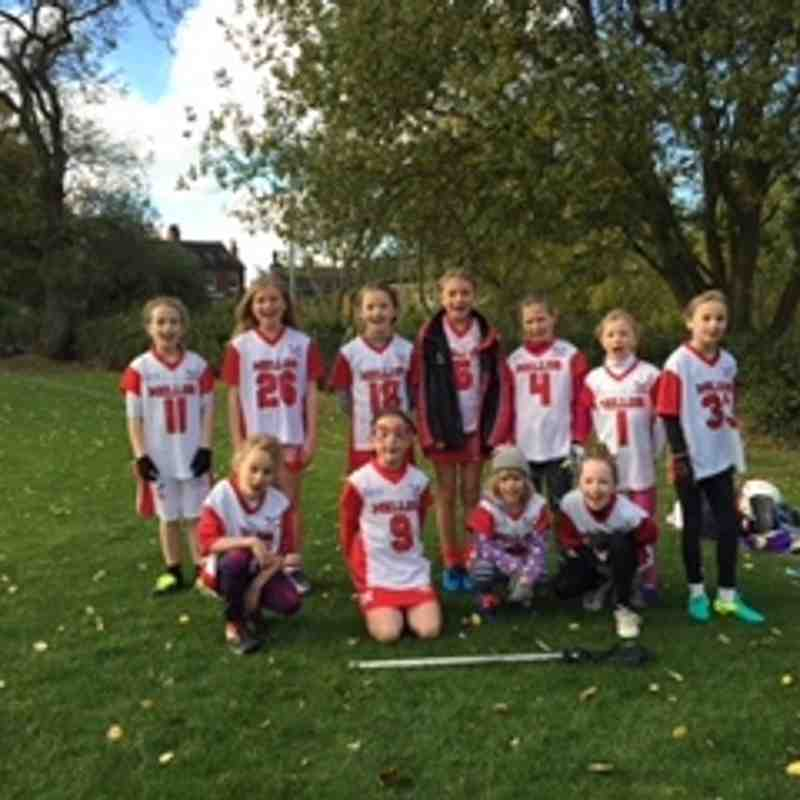 U11 girls v Cheadle