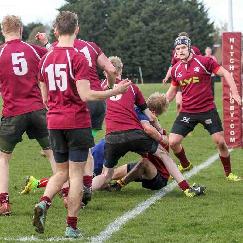 Hichin V BSRFC Colts Semi Final County Cup 2016