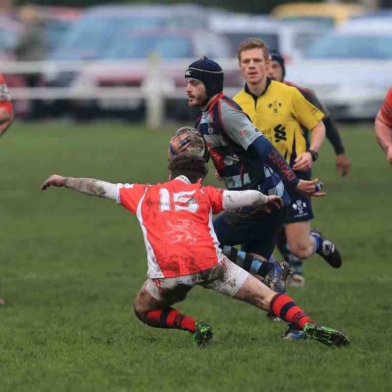 DKRFC v Whitchurch 16.1.2016