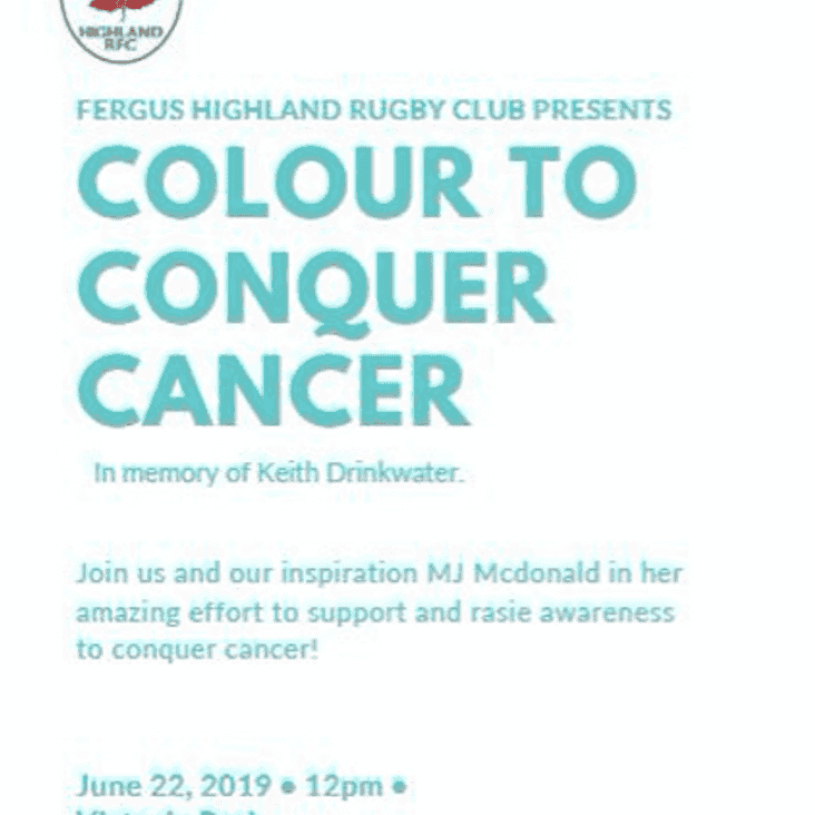 COLOUR TO CONQUER CANCER