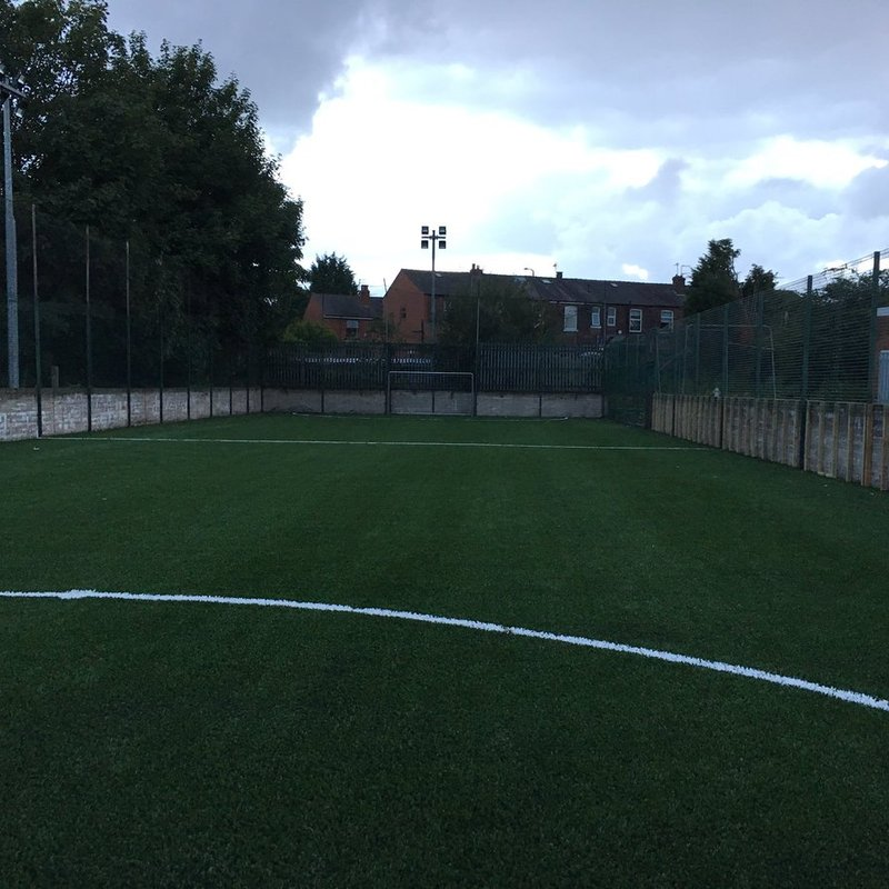 Astro turf make-over nearing completion
