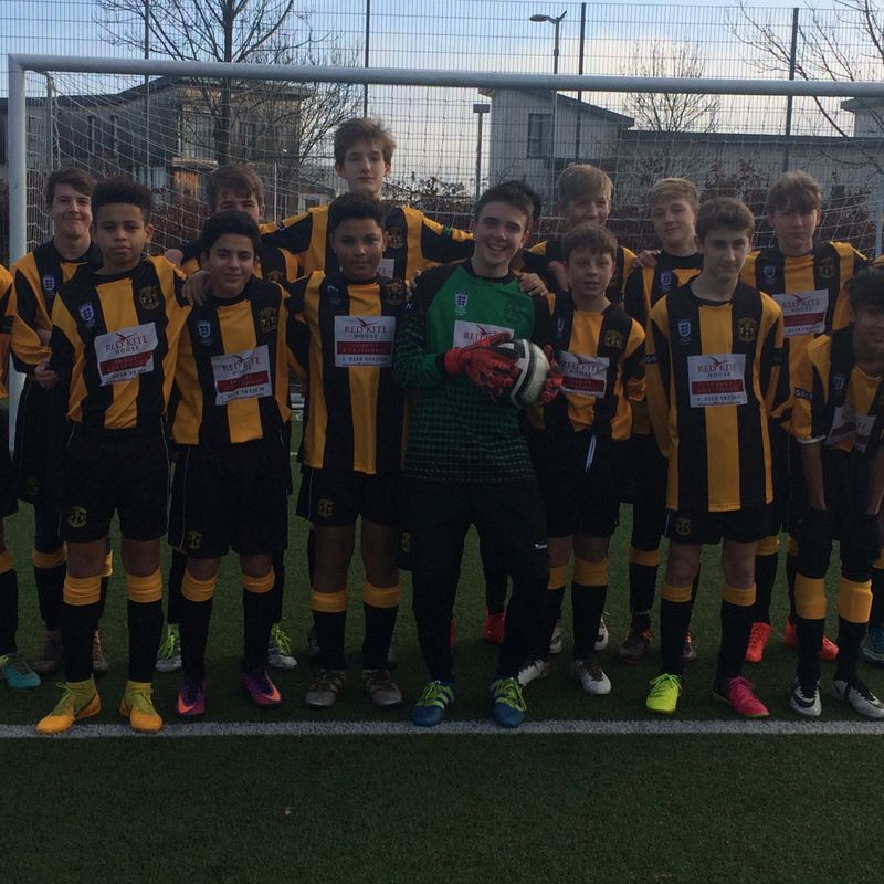 U15 beat Andover New Street Swifts