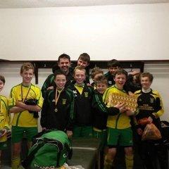 Mevagissey Warriors U 13's County Cup Final