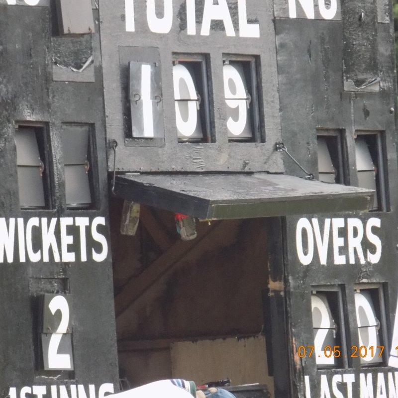 Glasgow Accies  194/5 - 190/7 Kilmarnock Cricket club