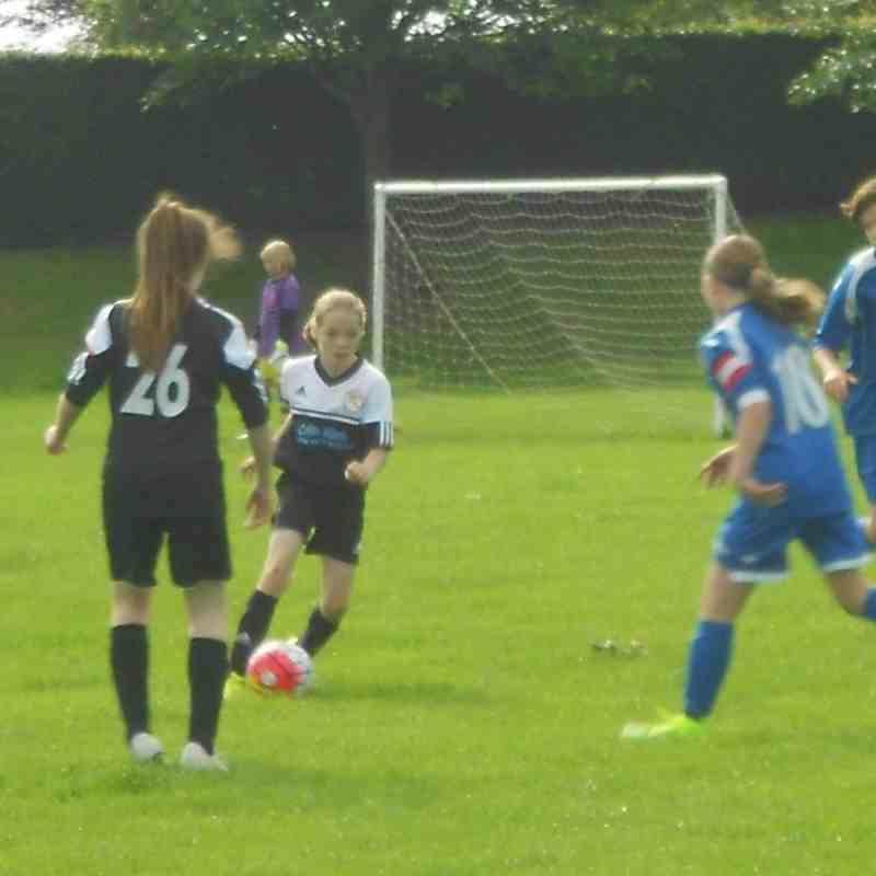 U13's girls 2015 v forfar falcon