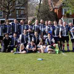 30/04/2016 Brighton Outcasts vs Hastings & Bexhill 3s (away) SUSSEX SALVER CUP FINAL