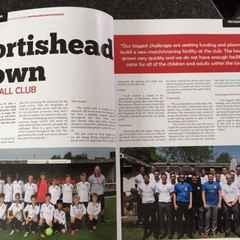 PTFC Featured in Football Focus Magazine