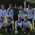 Under 14 Colts beat Nailsea Athletic 4 - 0