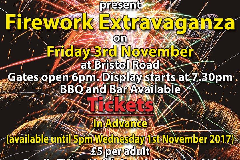 Fireworks Night - 3rd November 2017