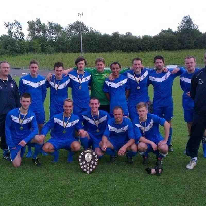 Hatfield Town Dalton Shield Winners 2012
