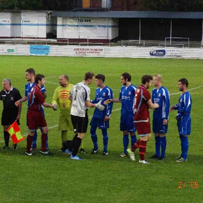 27.08.14 Chesham United Reserves