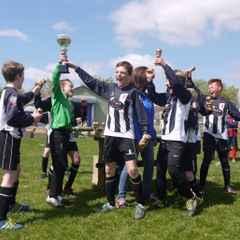 Unbeaten season ends with success in U10s main cup final