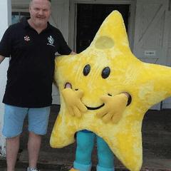 All Stars Mascot and Presentation