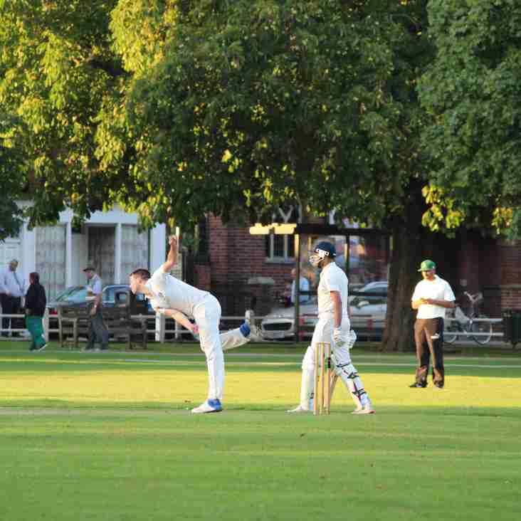 Ts depart from the Middlesex Cup