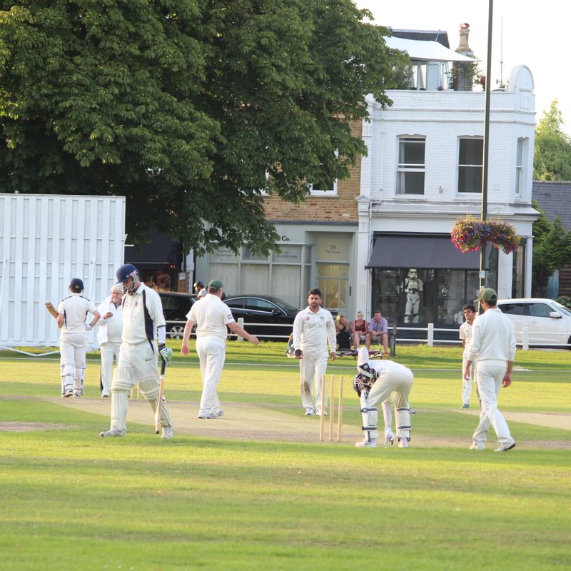 2nds match report; the great escape!